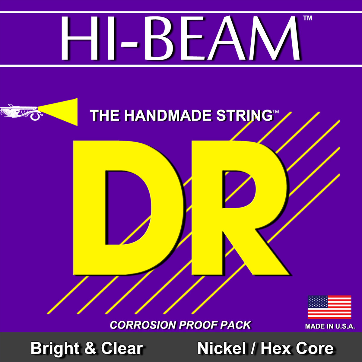 DR Strings Hi-Beam Electric Heavy
