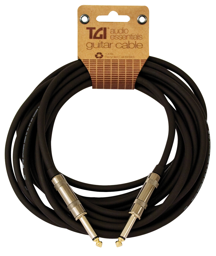 TGI Audio Essentials Cable - Guitar Cable - 20ft