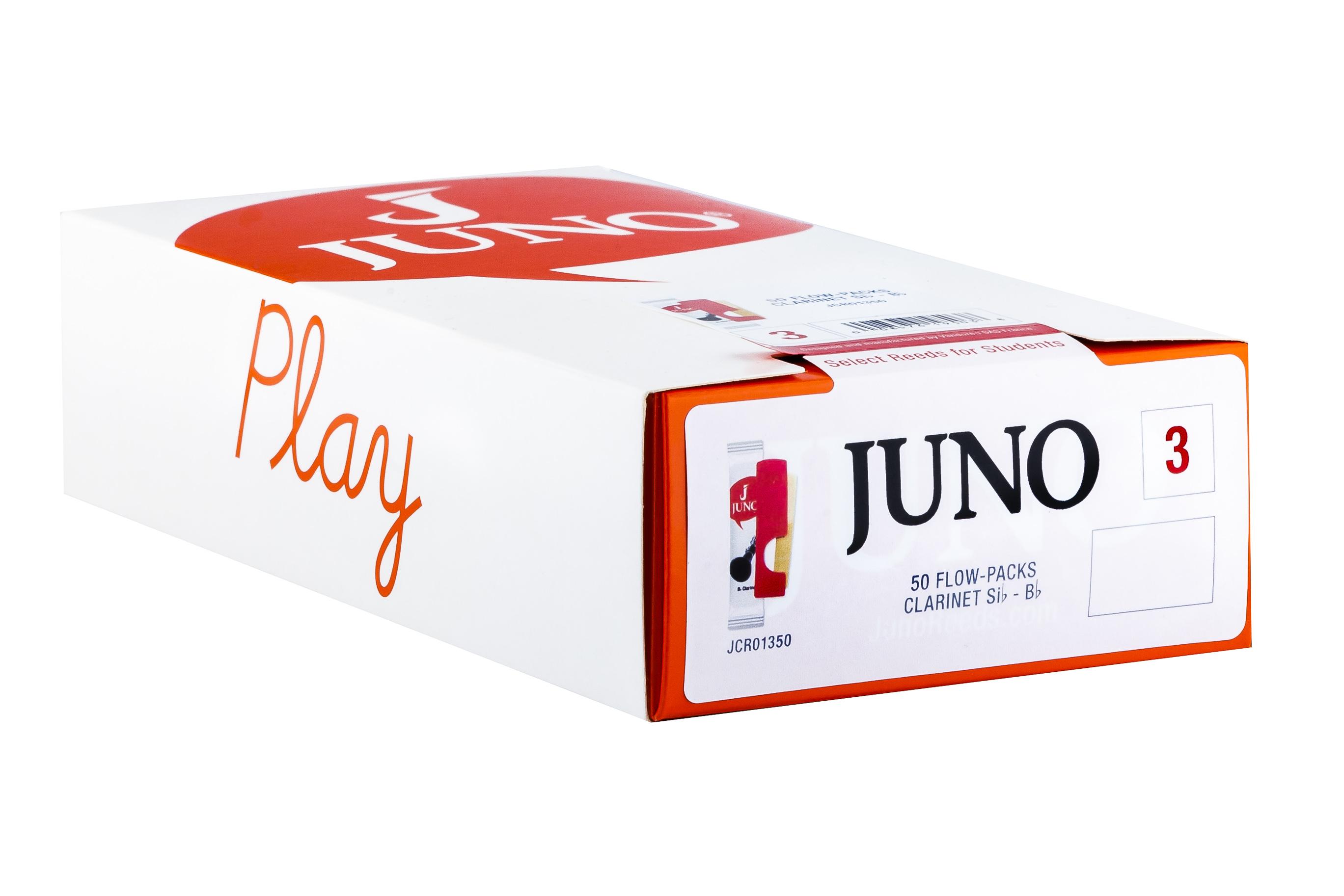 Juno Reeds Clarinet Bb 3 Juno 50 Box