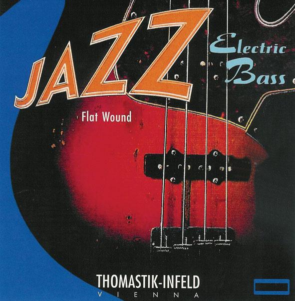 Thomastik Jazz Bass SET Flatwound short scale 43-106