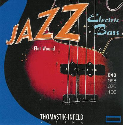 Thomastik Jazz Bass SET Flatwound 5 String Gauge 43-118