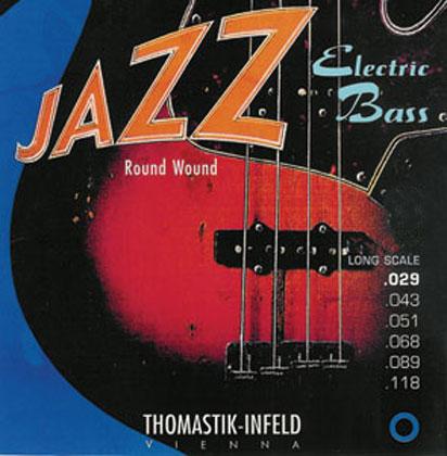 Thomastik Jazz Bass SET Roundwound 5 String Gauge 43-118