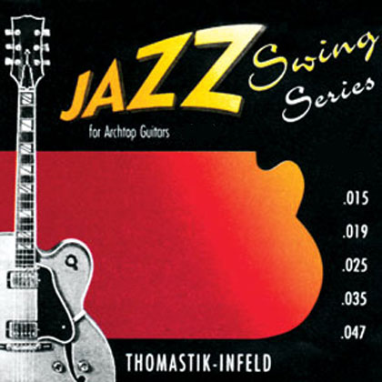 Thomastik Jazz Swing SET Flatwound Gauge 0 010