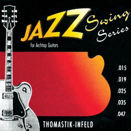 Thomastik Jazz Swing SET Flatwound Gauge 0 012