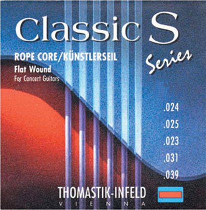 Thomastik Classic S SET Flatwound Extra High Tension