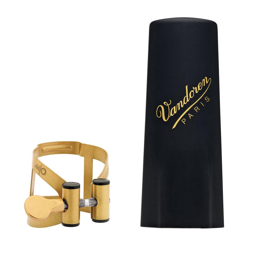 Vandoren Ligature & Cap Tenor Sax Aged Gold M/O+Plastic