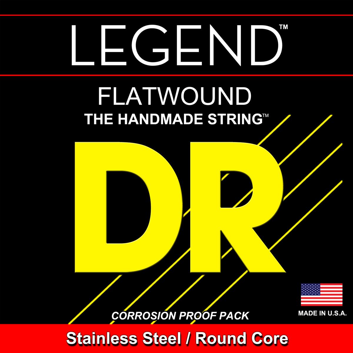 DR Strings Legends Flats Electric Medium