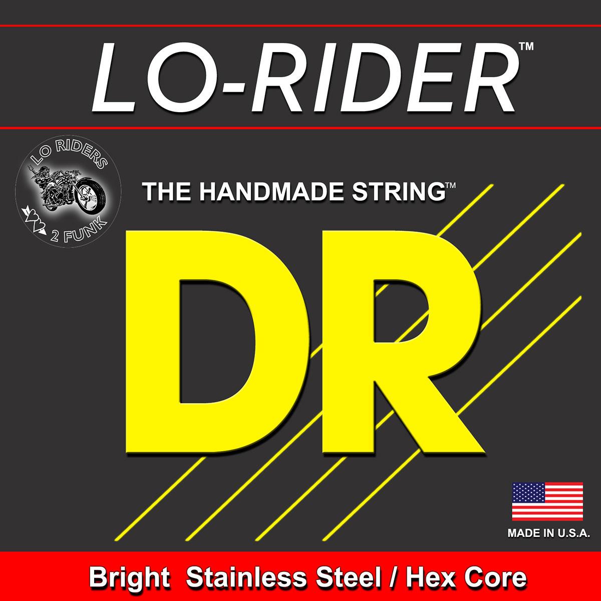 DR Strings Lo-Rider Bass Medium - Light