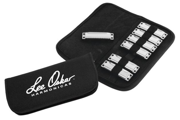 Lee Oskar Harmonica Soft Case for 7 Harps