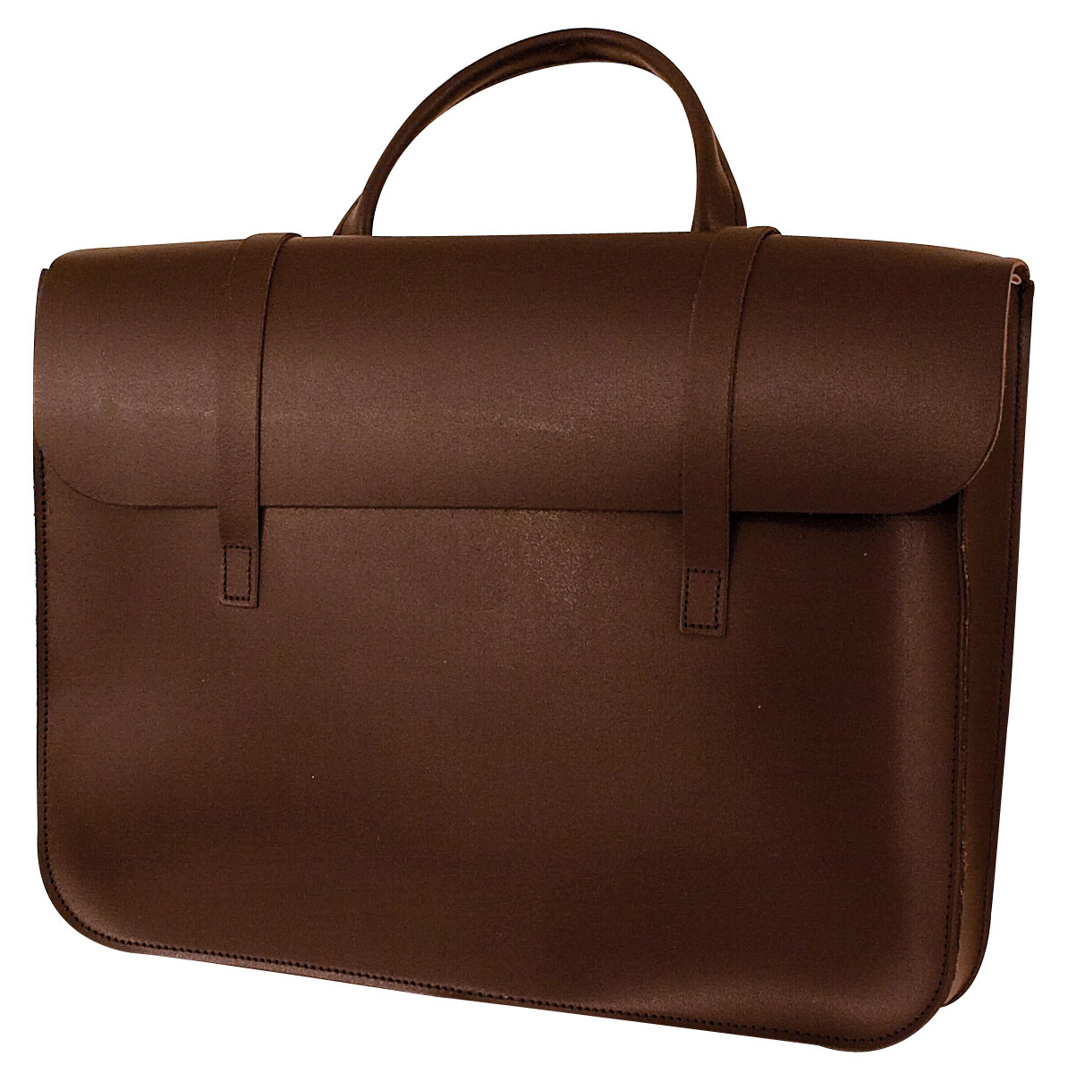 Music Case Leather - Brown