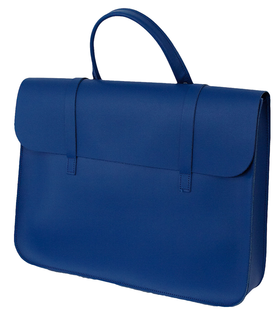 Music Case Leather - Royal Blue