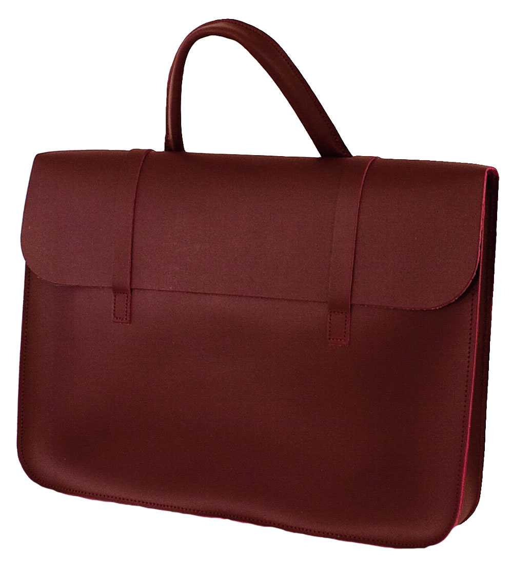 Music Case Leather - Wine
