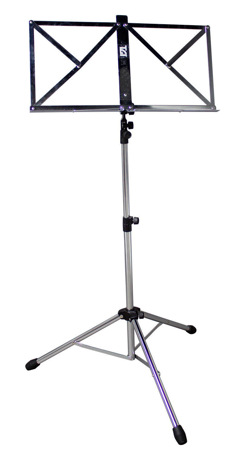 TGI Music Stand in Bag Chrome