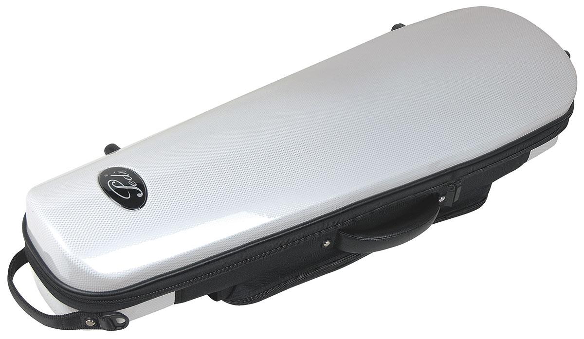 Pedi Case Violin Steelshield White