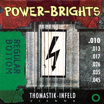 Thomastik Powerbright SET Gauge 0 009