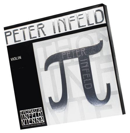 Peter Infeld Violin String E Gold plated, Chrome