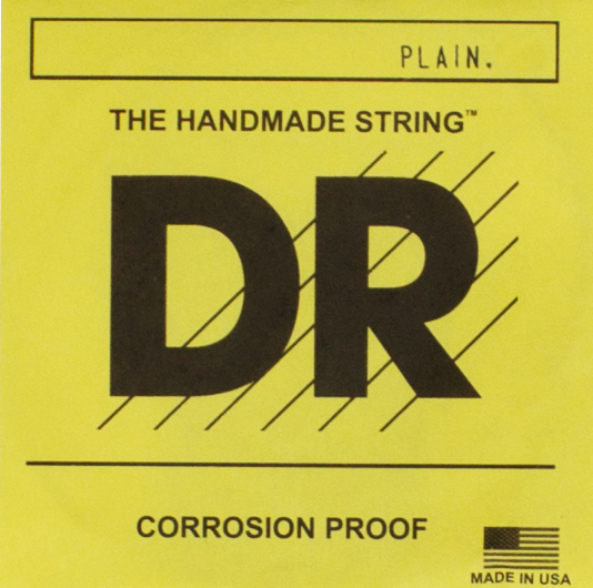 DR Strings Plain Coated Acoustic and Electric String 0 013