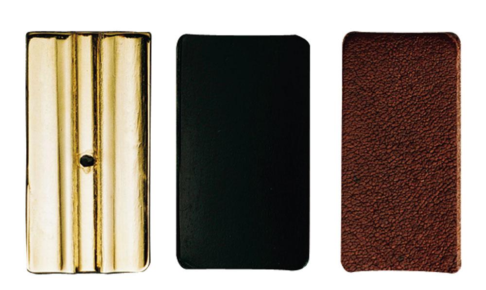 Vandoren Pressure Plates Soprano Sax Leather Lig
