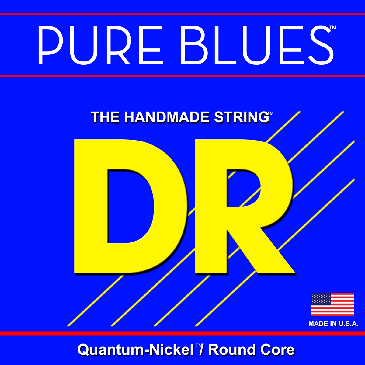 DR Strings Pure Blues Bass Lite