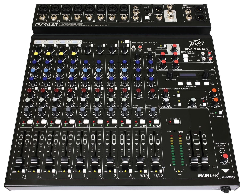 Peavey Mixer PV14 AT Auto-Tune