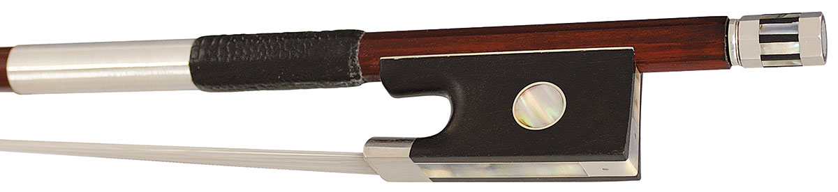 Hidersine Bow Violin 4/4 Pernambuco Silver Mounted Round