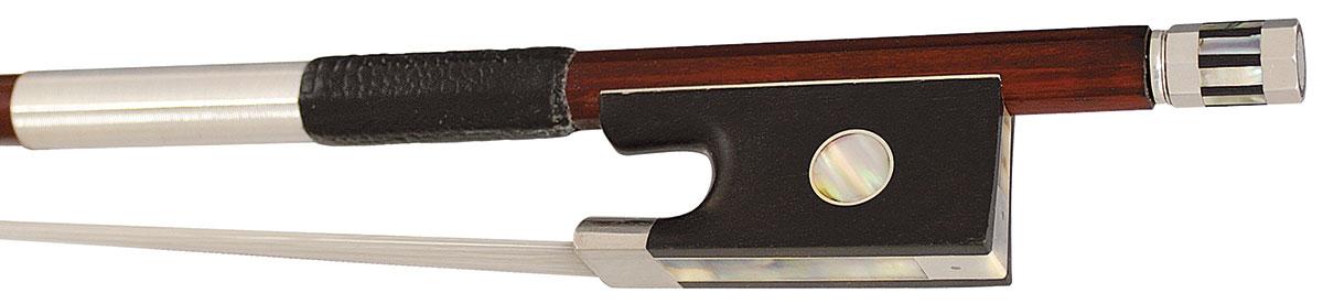 Hidersine Bow Violin 3/4 Pernambuco Silver Mounted Round
