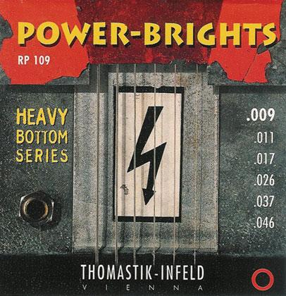 Thomastik Powerbright SET Heavy Bottom Gauge 0 009