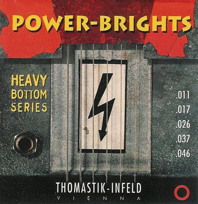 Thomastik Powerbright SET Heavy Bottom Gauge 0 011