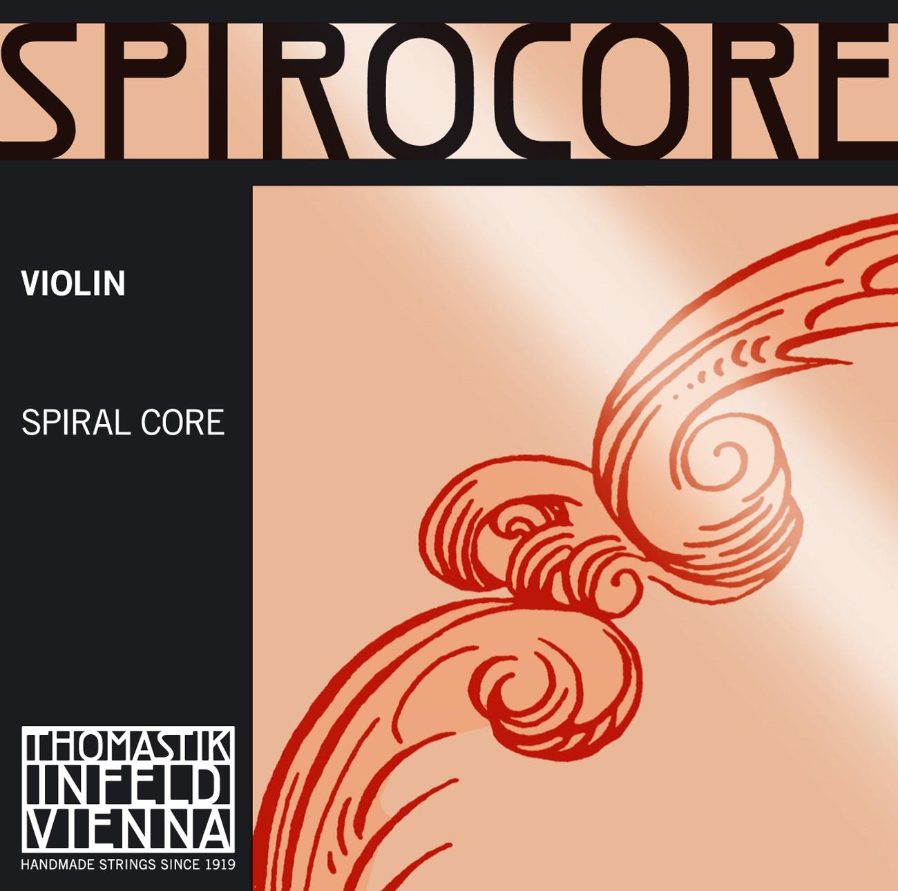 Spirocore Violin D Aluminium Wound 4/4 Strong