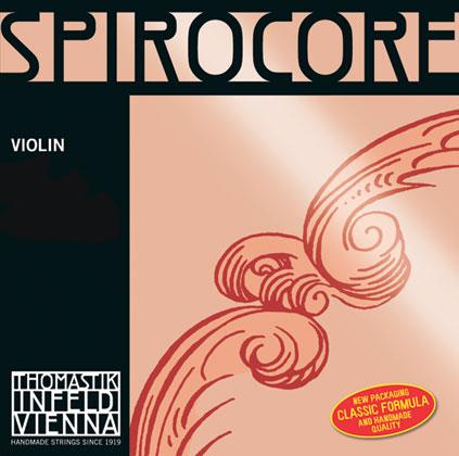 Spirocore Violin D Chrome Wound 4/4 - Weak R