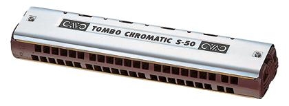 Tombo Harmonica Chromatic Single