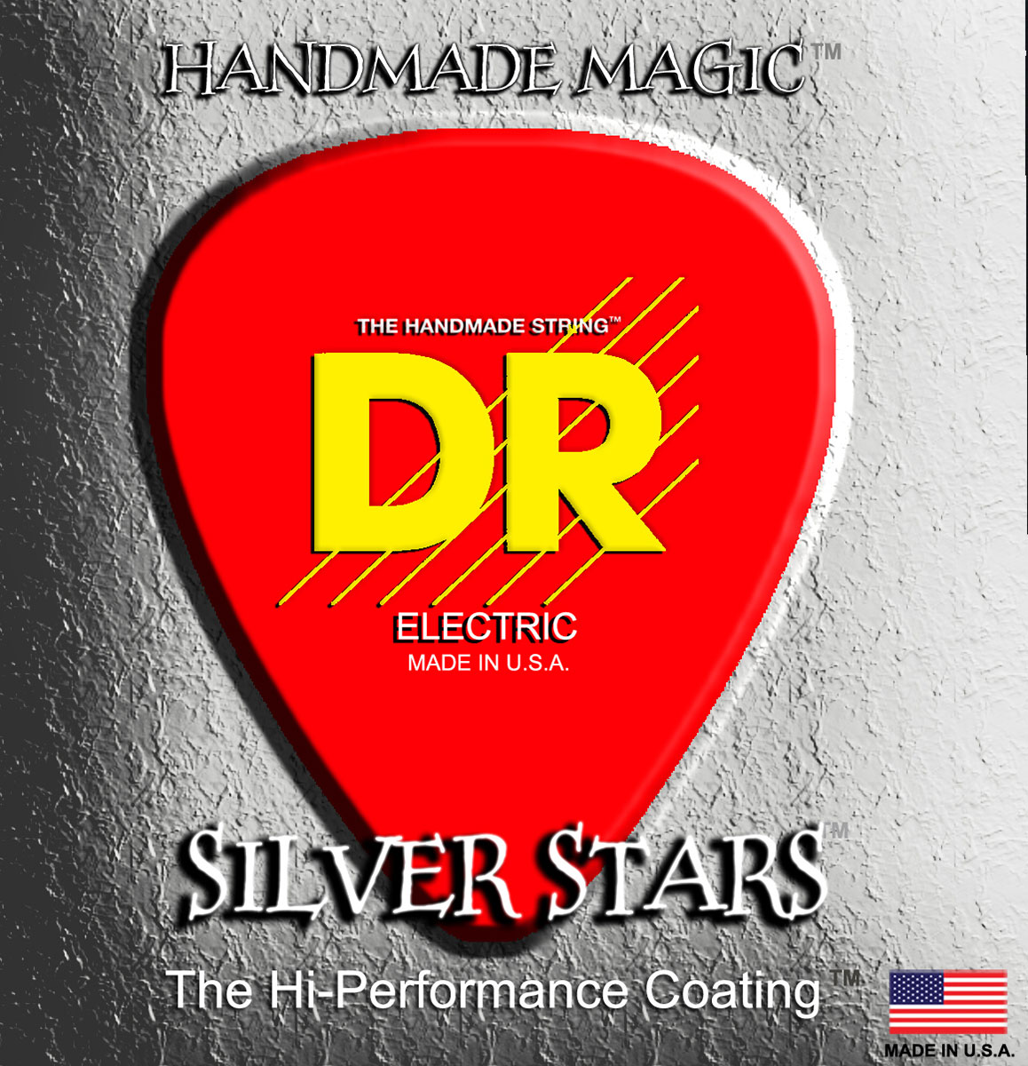 DR Strings Silver Stars Electric Medium