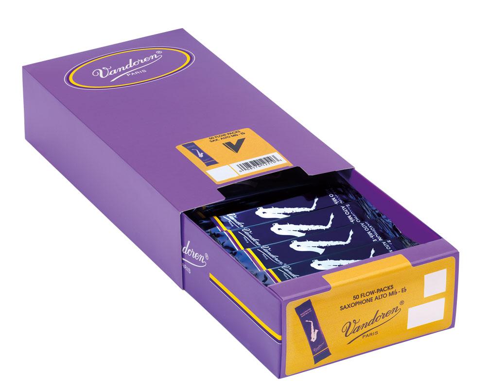 Vandoren Reeds Alto Sax 1 5 Traditional 50 BOX