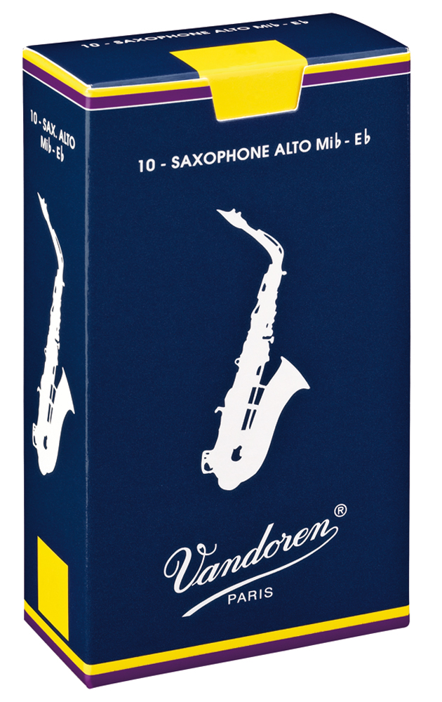 Vandoren Reeds Alto Sax 2 5 Traditional 10 BOX