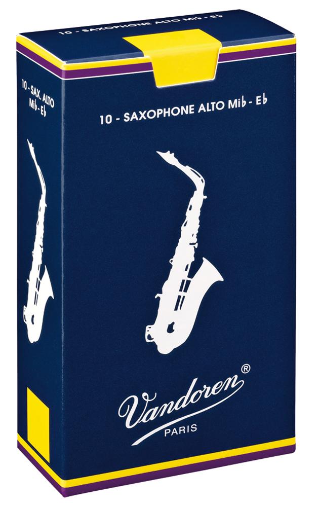 Vandoren Reeds Alto Sax 3 Traditional 10 BOX