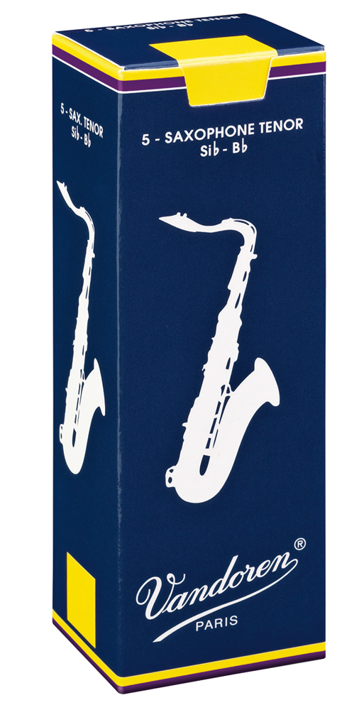 Vandoren Reeds Tenor Sax 3 5 Traditional 5 BOX