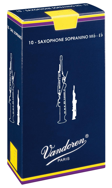 Vandoren Reeds Sopranino Sax 4 10 BOX