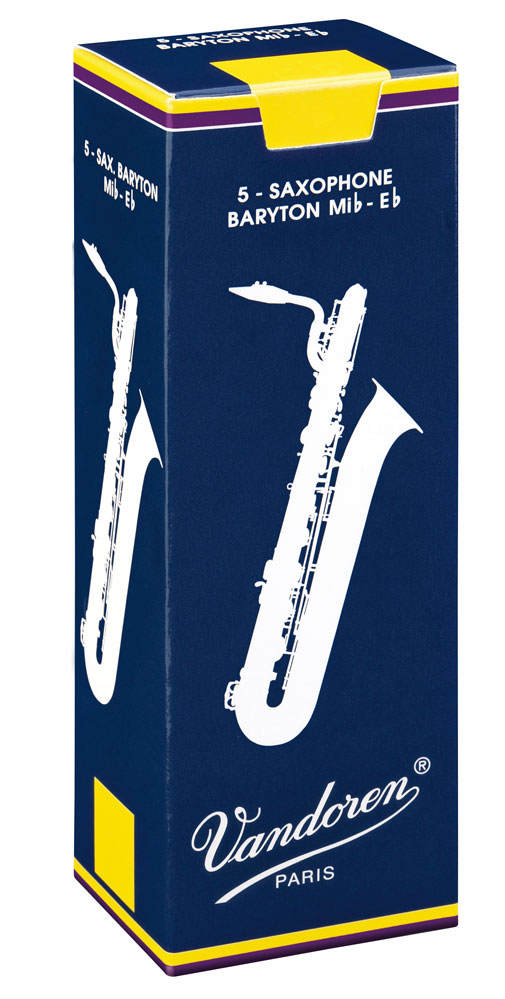 Vandoren Reeds Baritone Sax 3 5 Traditional 5 BOX