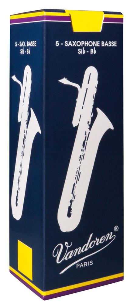Vandoren Reeds Bass Sax 4 5 BOX