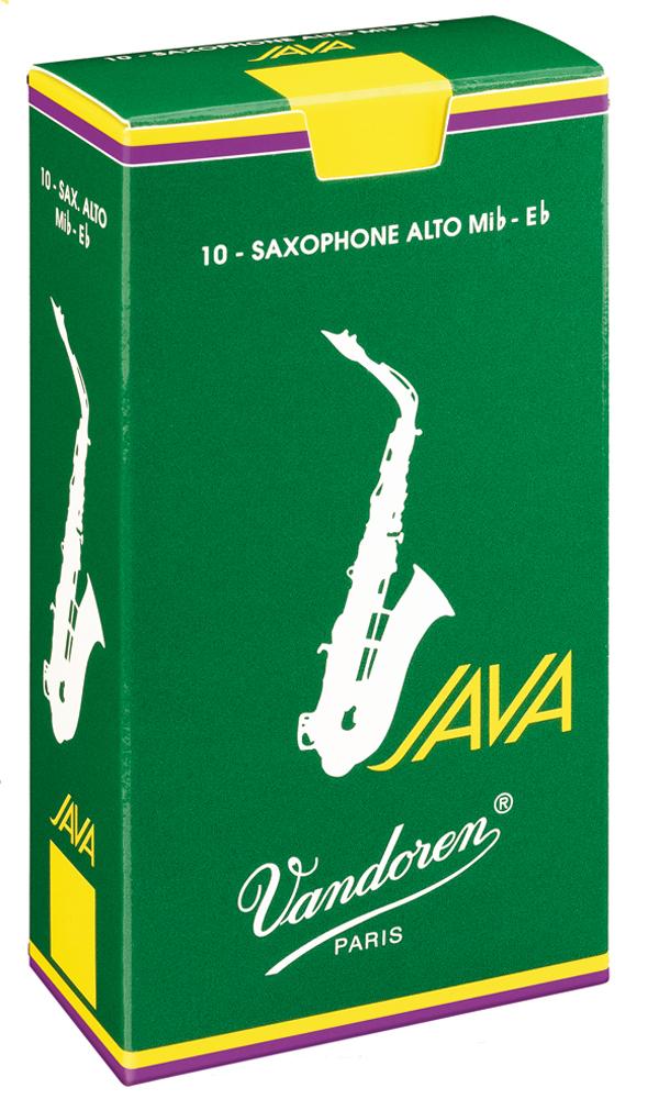 Vandoren Reeds Alto Sax 3 Java 10 BOX