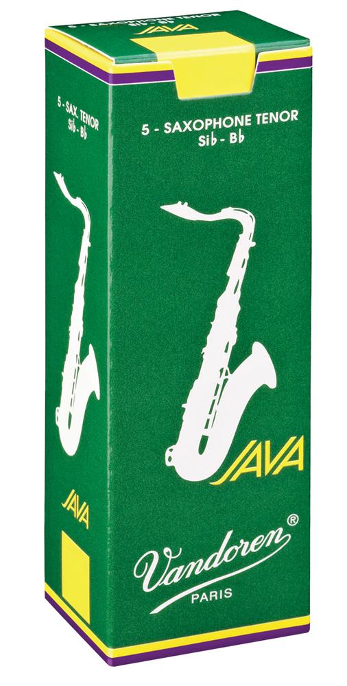 Vandoren Reeds Tenor Sax 4 Java 5 BOX