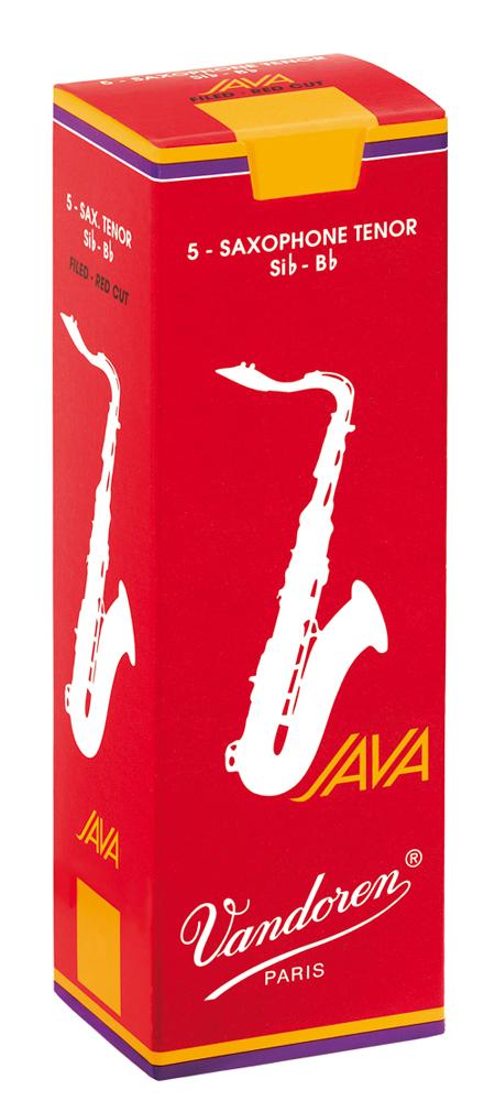 Vandoren Reeds Tenor Sax 4 Java Red 5 BOX