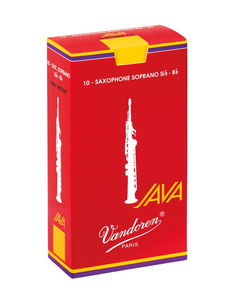 Vandoren Reeds Soprano Sax 3 5 Java Red 10 BOX