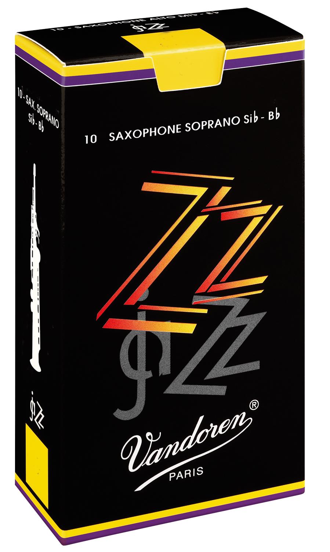 Vandoren Reeds Soprano Sax 4 Jazz 10 BOX