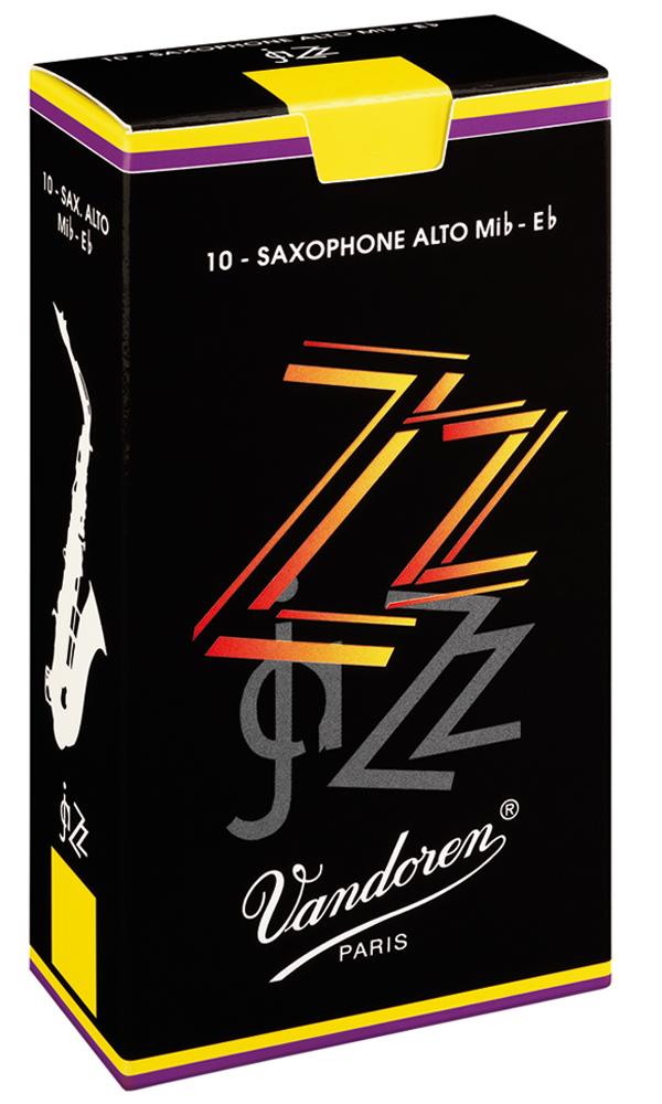 Vandoren Reeds Alto Sax 3 Jazz 10 BOX