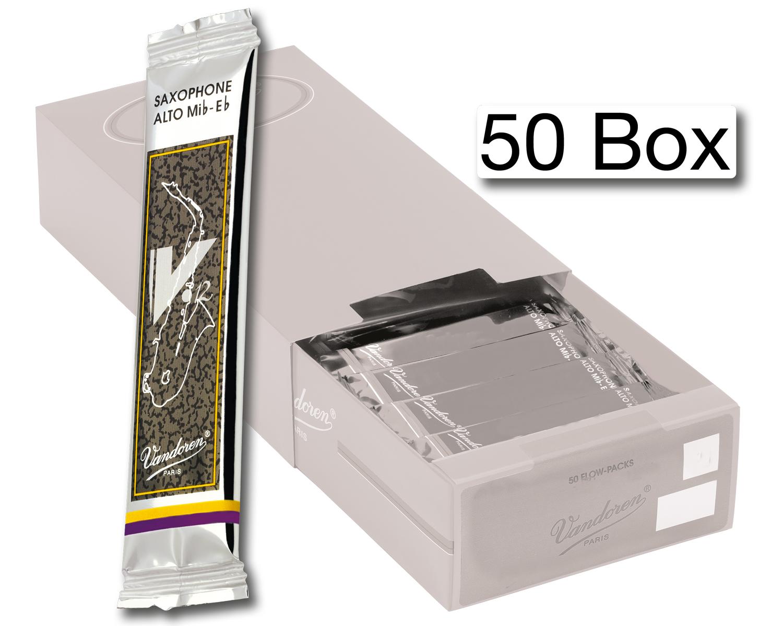 Vandoren Reeds Alto Sax 3 V12 50 BOX