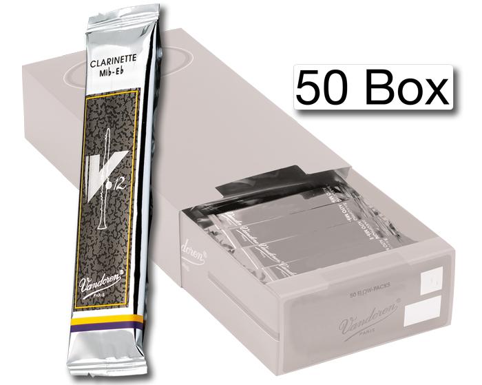 Vandoren Reeds Alto Sax 3 5 V12 50 BOX
