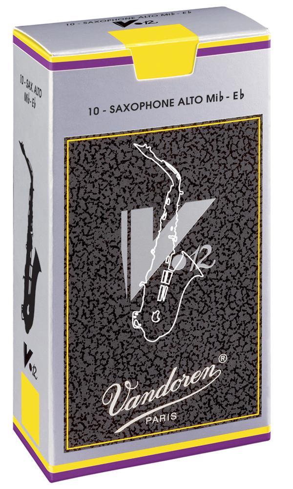 Vandoren Reeds Alto Sax 5 V12 10 BOX