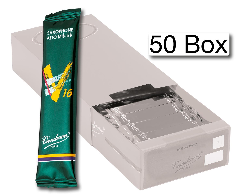 Vandoren Reeds Alto Sax 2 5 V16 50 BOX