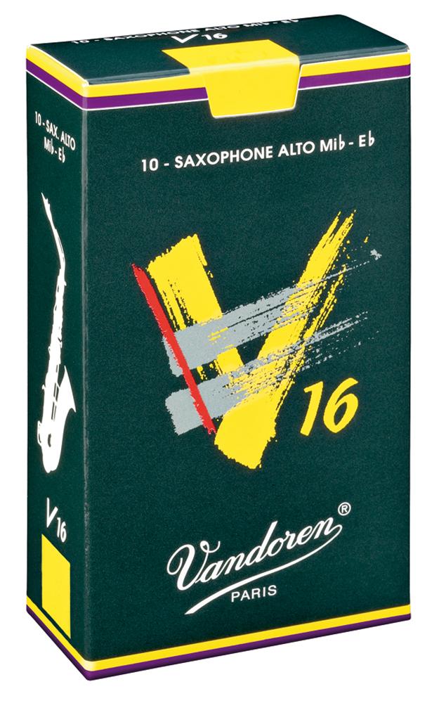 Vandoren Reeds Alto Sax 3 V16 10 BOX